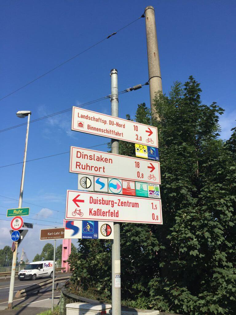 RuhrtalRadweg - Duisburg - Fietsvakantie