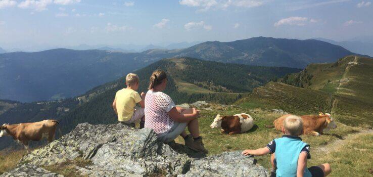 Bergwandeling met kinderen, Karinthie