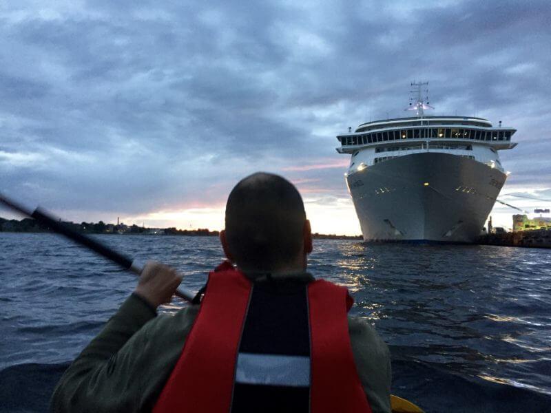 Tips voor Riga: Kano by night