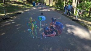 Tips voor Riga: StreetArt in Mezapark Riga