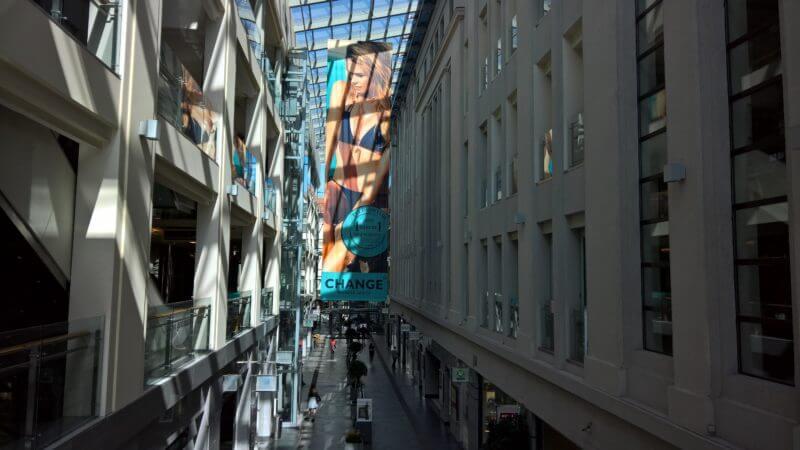 Tips voor Riga: Galerija Centres Riga