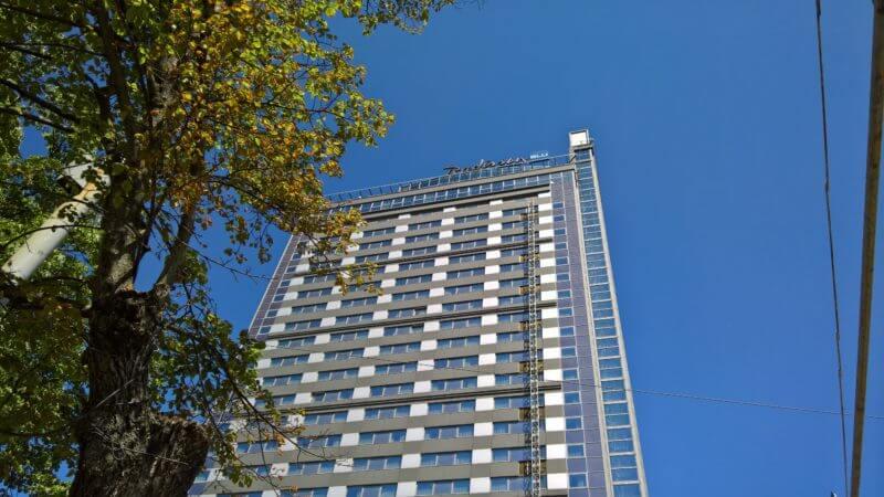 Tips voor Riga: Skybar Radisson hotel