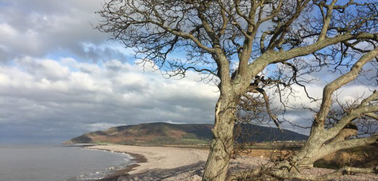 Exmoor - Porlock - South West Coast Path- Vaders op Reis