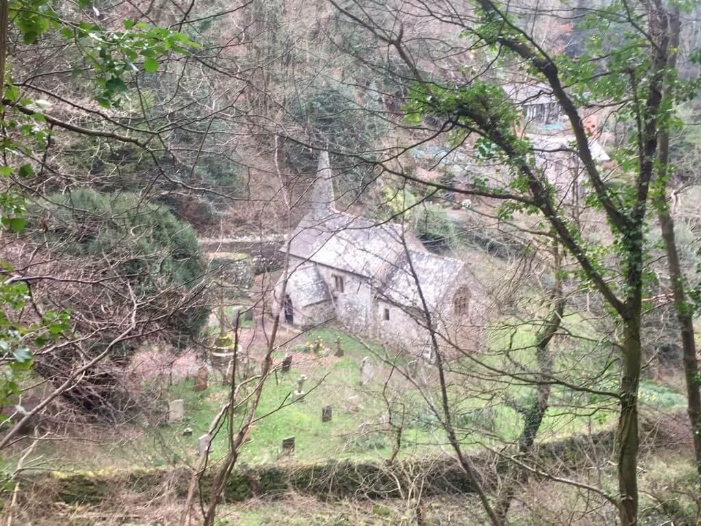 Culbone Church - SWCP - Exmoor - Vaders op Reis