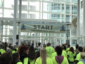 Start van the Hague City Walk