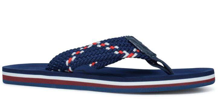 Slippers op vakantie