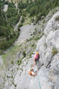 Via ferrata, Ancelle