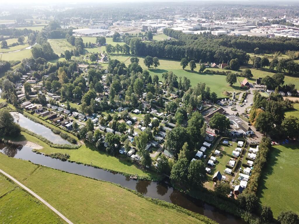 Boomhut-Molke-Zuna-Overijssel-Vaders op Reis - luchtfoto