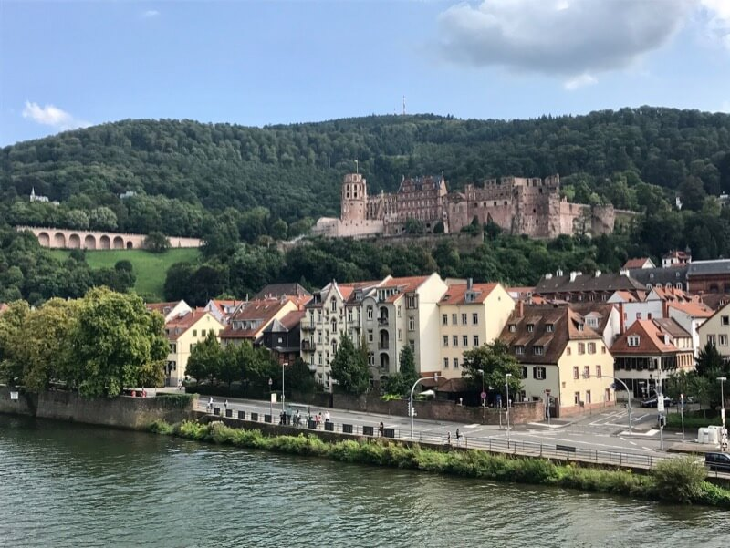 Schloss Heidelberg - Reitsma Route Rome-