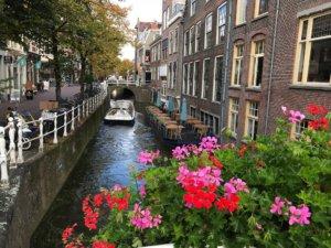 Rondvaart in Delft