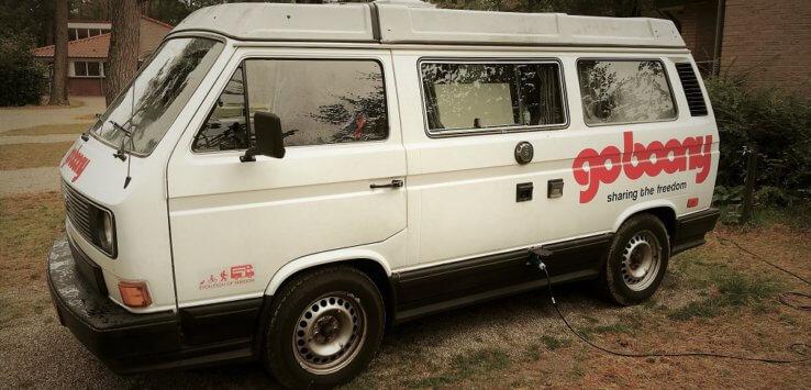 Kamperen met de VW bus van Goboony