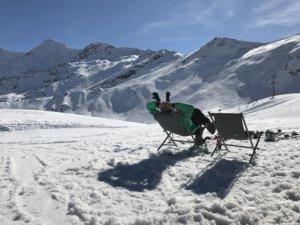 Zinal in Zwitserland