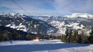 Flachau in de Ski Amade