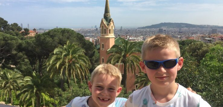 Barcelona met kinderen - Vaders op Reis