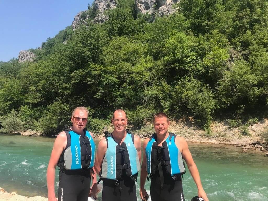 Outdoor Bosnië - Raften - Konjic - Vaders op Reis - Mountainbike